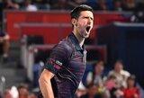 ATP 500 turnyro Tokijuje finale – N.Djokovičiaus dominavimas