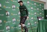 """Sezoną praleidusiam """"Celtics"""" puolėjui vėl atlikta operacija"""