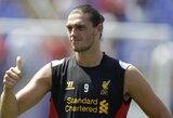 """B.Rodgersas: """"Noriu, kad A.Carrollas liktų """"Liverpool"""" klube"""""""
