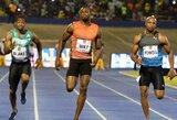 U.Boltas įsibėgėja: starto metu vos nepargriuvęs jamaikietis sezono reitinge pakilo į antrą vietą