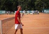 Keturi lietuviai pateko į ITF jaunių teniso turnyro Latvijoje ketvirtfinalius