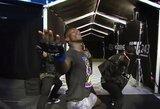 """Apie fantastišką išėjimo šou prakalbęs I.Adesanya: """"Jeigu mokėčiau dainuoti, net J.Bieberis neturėtų darbo"""""""