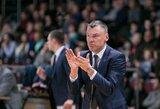 """Š.Jasikevičius įvardino, kas jam patiko bei nepatiko rungtynėse su """"Dzūkija"""""""