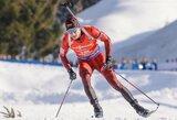Biatlonininko T.Kaukėno mintyse – olimpinių žaidynių šešioliktukas