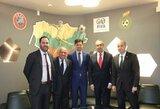 LFF lankėsi JAV, Kanados ir Meksikos futbolo vadovai