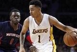 """""""Lakers"""" naujokas nusprendė netylėti: be Bryanto mes kamuoliu dalinamės geriau"""