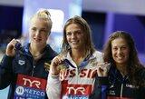 Europos čempionatų medalių įskaitoje Lietuva užima 17-ą vietą, dominuoja Rusija