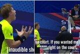 """ATP 500 turnyras Sankt Peterburge: baltarusis siūlėsi """"prišikti"""" tiesiai ant korto, pabėgusiam S.Querrey gresia rimtos sankcijos"""