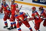 """Po baudinių serijos pergalę išplėšę rusai išsaugojo galimybes kovoti dėl """"Pirmojo kanalo"""" taurės"""