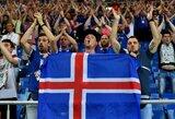 Patiks mitologijos mylėtojams: Islandija pristatė naują rinktinės logotipą