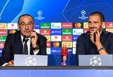 """M.Sarri: """"Juventus"""" turi atsikratyti nelogiškos Čempionų lygos fobijos"""""""