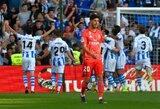 """Tragiškas sezonas: """"Real"""" patyrė vienuoliktą pralaimėjimą Ispanijoje"""