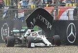 Vokietijos GP dramos pabaiga: L.Hamiltonas ir R.Kubica po varžovų baudų gavo taškus