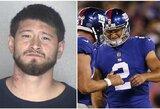 Policija sulaikė krauju pasruvusią NFL žvaigždę: po avarijos bandė pabėgti iš įvykio vietos