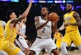 """K.Leonardas pasiuntė """"Lakers"""" į ketvirtą nesėkmę iš eilės"""