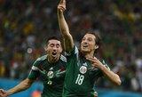 Meksika iš pasaulio čempionato išmetė Kroatiją ir aštuntfinalyje žais su Olandija