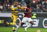 """Turnyrinės lentelės kaimynų akistatoje – """"AC Milan"""" įveikė """"Parma"""""""
