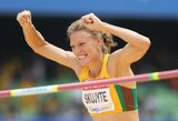 A.Skujytė po keturių rungčių moterų septynkovės varžybose Austrijoje užima antrąją vietą