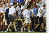 """Skaudus """"Real"""" kirtis: kryžminių kelio raiščių traumą patyręs M.Asensio šiemet neberungtyniaus"""