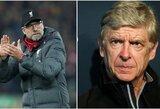 """A.Wengeras tiki """"Liverpool"""" šansais pakartoti """"Nenugalimųjų"""" pasiekimą"""