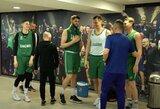 """Pamatykite: """"Žalgiris"""" surengė treniruotę Barselonoje ir sutiko Š.Jasikevičių bei kitus gerai pažįstamus veidus"""