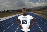 Pasaulio rekordininkas sprinteris U.Boltas pradėjo naująjį sezoną