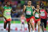 Net keturi parolimpiniai bėgikai parodė geresnį laiką 1500 metrų rungtyje, negu olimpinis čempionas M.Centrowitzas
