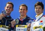 R.Lochte net šešioliktą kartą tapo pasaulio plaukimo čempionu (+ visi prizininkai)