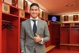 Nežinomybė dėl J.Rodriguezo ateities: futbolininko tėvas svajoja apie Turiną