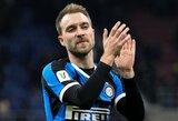 """A.Conte neplanavo tokio greito Ch.Erikseno debiuto """"Inter"""" gretose"""
