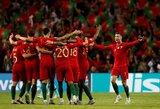 Portugalija triumfavo Tautų lygoje