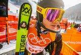 Kalnų slidininkas A.Drukarovas Italijoje pateko į dešimtuką
