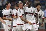 """Milano derbyje – fantastiškas P.Mexeso įvartis ir """"Milan"""" pergalė"""
