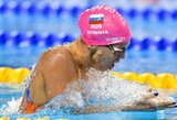 """Rusijos čempionate tik vieną aukso medalį laimėjusi J.Jefimova: """"Viskas buvo ne taip, kaip planavau"""""""