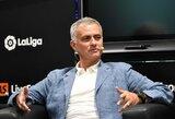 """""""Man United"""" gynėjas V.Lindelofas: """"Ilgiuosi J.Mourinho"""""""