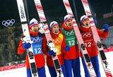 Olimpinėje medalių įskaitoje norvegai tolsta nuo vokiečių, kanadiečiai pakilo į trečią vietą