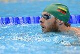 V.Janušaitis Londone 100 m plaukimo krūtine rungtyje užėmė 39 vietą