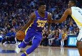 """Rungtynių metu – dviejų """"Lakers"""" žaidėjų konfliktas"""