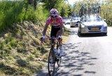 Pirmajame dviračių lenktynių Olandijoje etape R.Navardauskas finišavo su pagrindine grupe