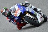 Antrose treniruotėse - greičiausias J.Lorenzo ratas ir dar viena M.Marquezo avarija