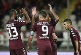 """Italijos taurė: """"Torino"""" pelnė 7 įvarčius, du """"Serie A"""" lygos klubai baigė savo pasirodymą"""