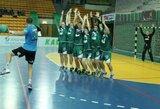 Lietuvos rankinio lyga: kauniečiai patiesė čempionus ir išlygino pusfinalio serijos rezultatą