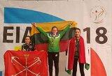 Lietuvos rekordą pagerinusiai lankininkei M.Večkytei – Europos čempionato auksas