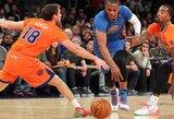 R.Westbrooko trigubas dublis – vienas greičiausių NBA istorijoje, D.Howardas vejasi Ch.Barkley