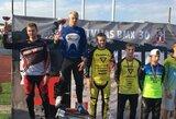 Keturi Lietuvos BMX atstovai Latvijoje iškovojo prizines vietas