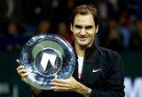 Pirmąja pasaulio rakete tapsiantis R.Federeris artėja ir prie 100-ojo karjeros trofėjaus