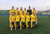 Lietuvos moterų rinktinė Europos čempionato atrankoje žais rudenį