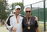 Tarptautiniame turnyre Dubingiuose varžėsi padelio mėgėjai iš šešių šalių, tarp nugalėtojų – ir Š.Marčiulionis