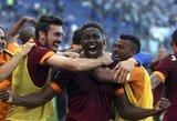 """Dramatiškame sostinės derbyje """"Roma"""" iškovojo """"Serie A"""" čempionato sidabrą"""