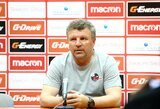 """Sūduvos"" treneris V.Čeburinas: ""Futbole visko būna"""